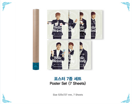 kedai kpop my   merchandise  btob - 2014 hello melody official goods