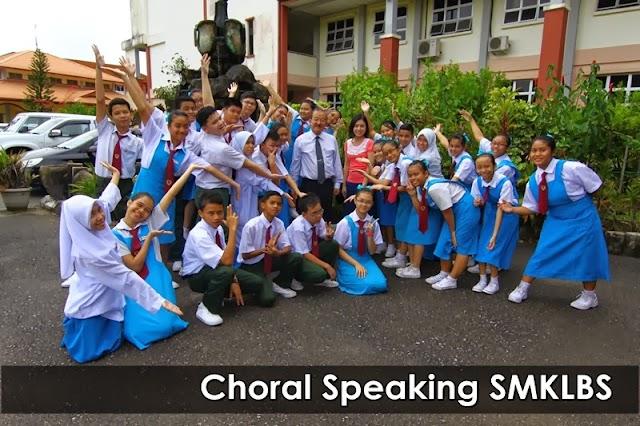Pasukan Choral Speaking Sekolah Saya Yang Best!
