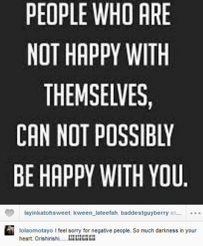 lola omotayo post