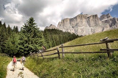 Trentino Radurlaub Strecken
