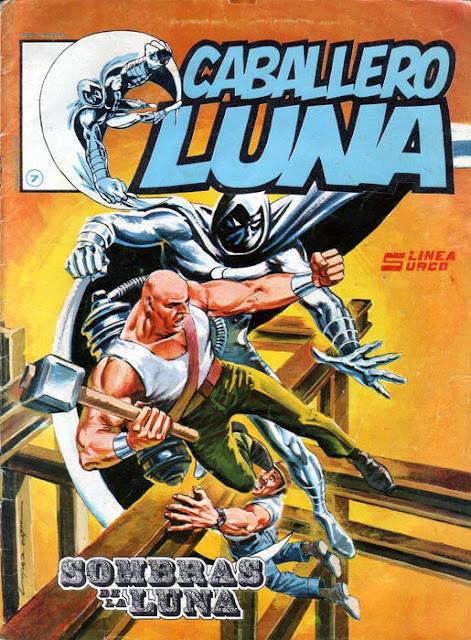 Portada del Caballero Luna Nº 7 Ediciones Surco