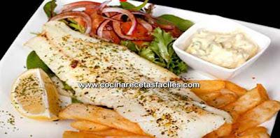 Receta de filete de pescado a la plancha recetas f ciles for Cocinar pez espada a la plancha