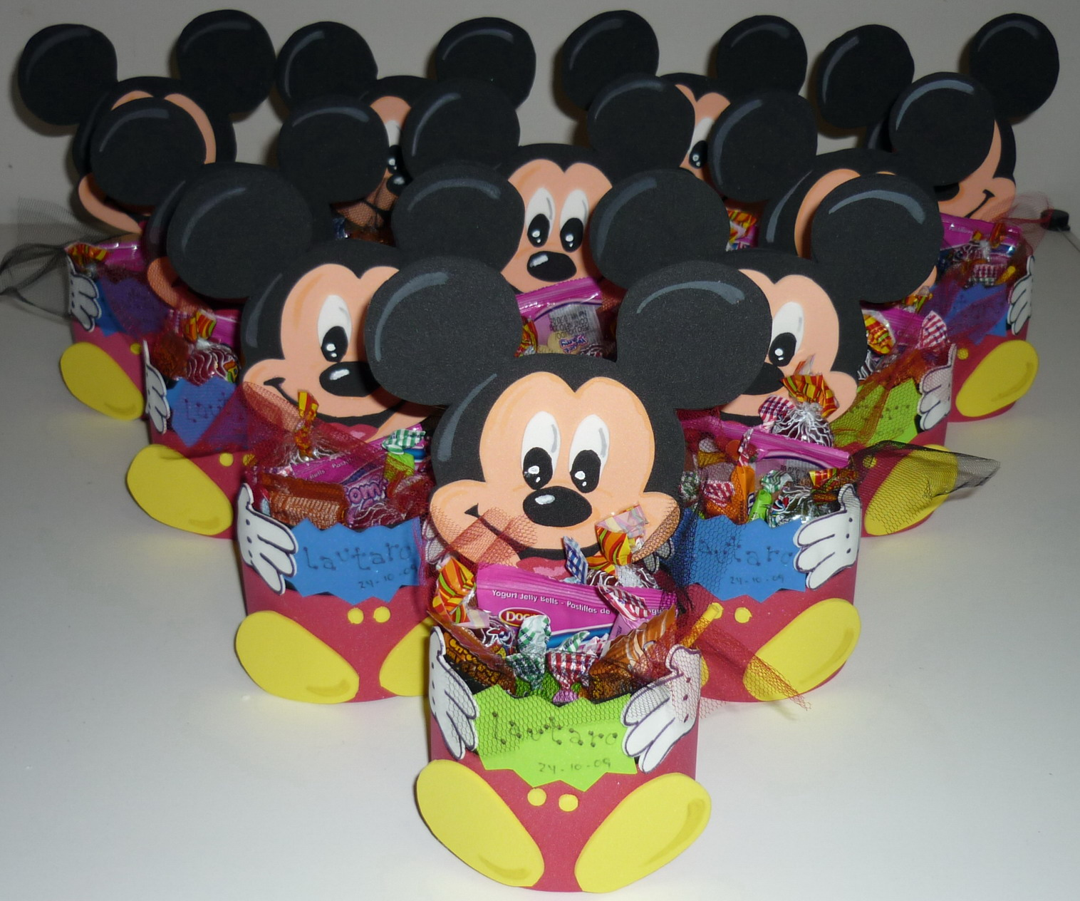 Mini Mandy: Golosinero de Mickey en Goma Eva
