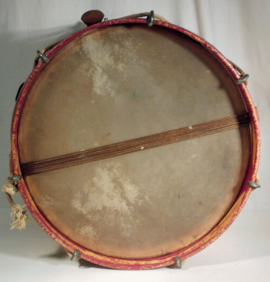 Field Drums A K Of 2015 Rope Tension Parts Diagram Cooperman Fife And Yellow Red Liberty Snare Marching Drum Unknown Vintage Military