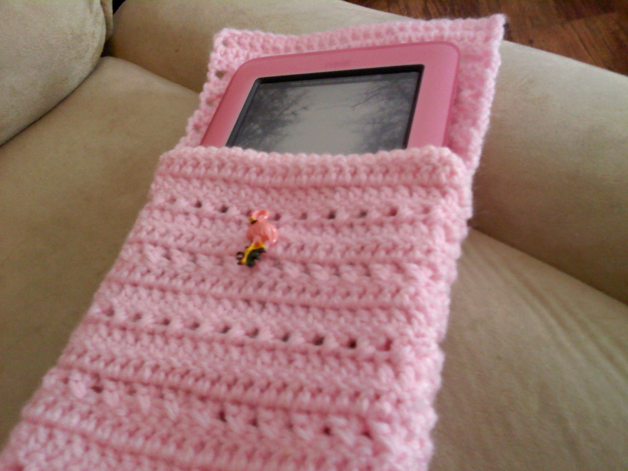 The Crafty Flamingo: E-Reader Case