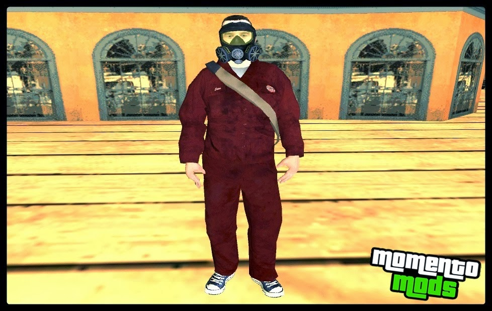 GTA SA - Skin Do Michael Do GTA V
