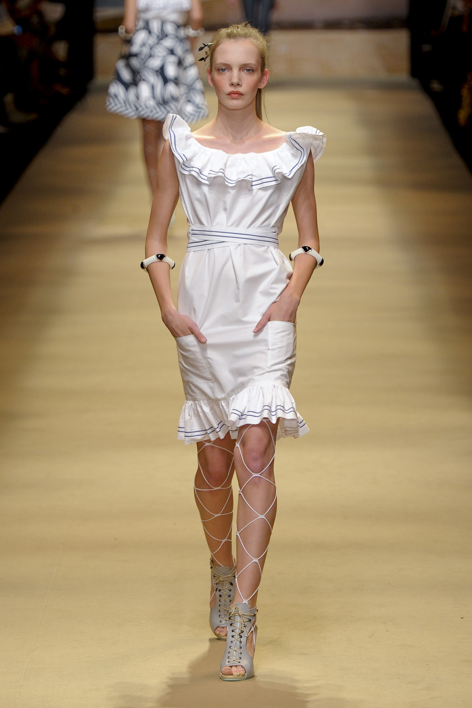 via fashioned by love | Alexis Mabille Spring/Summer 2011 White