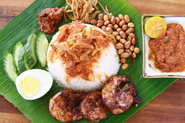 the best malaysian homemade family nasi lemak recipe