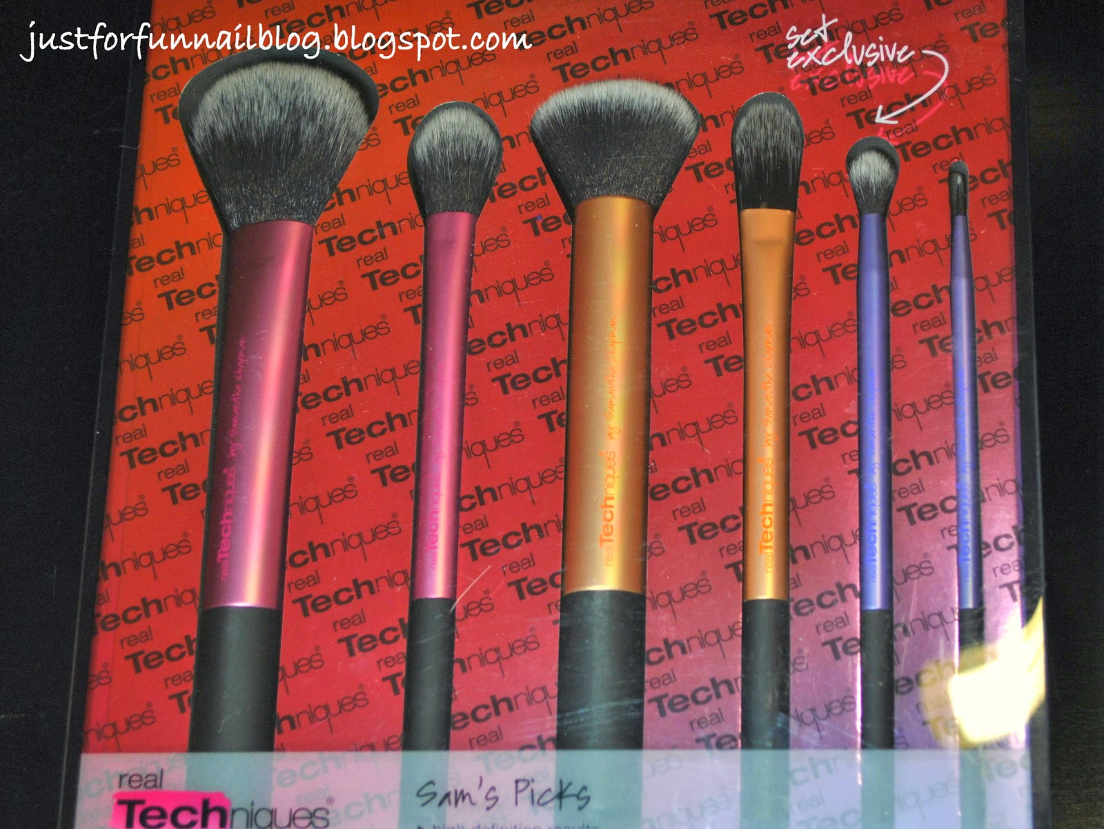 "iHerb ""Sam's Picks"" of Real Techniques brushes"