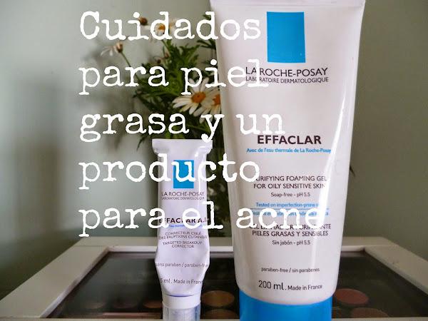 Cuidados para piel grasa y acne