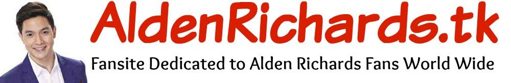Alden Richards - Blog