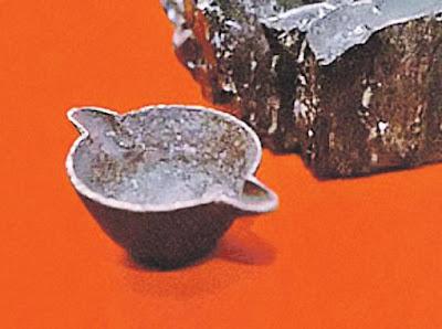 Encontrado en Rusia una pieza de aluminio de 300 millones de años. ¿Tal vez un fragmento de algún OVNI accidentado?