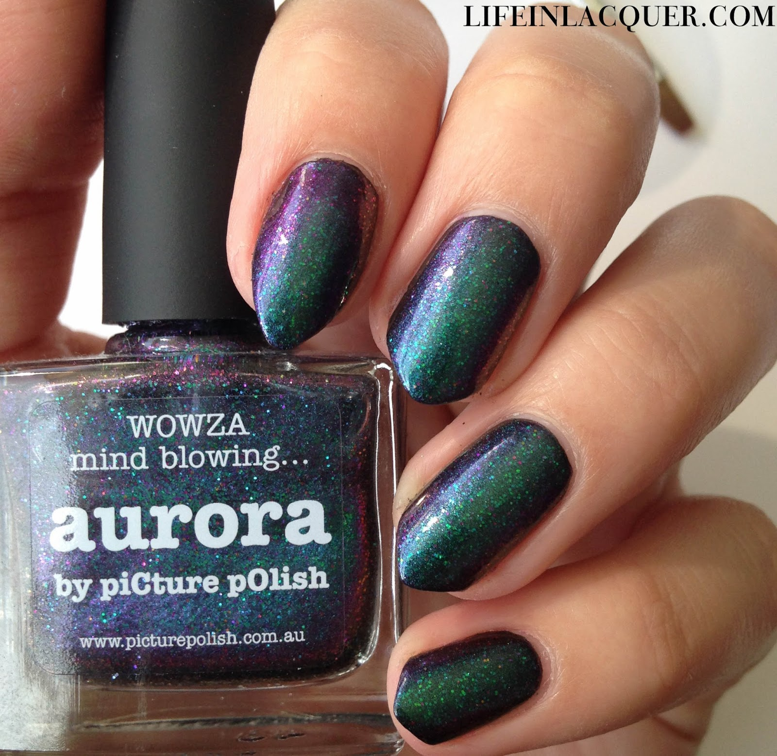 piCture pOlish Aurora indie polish swatch