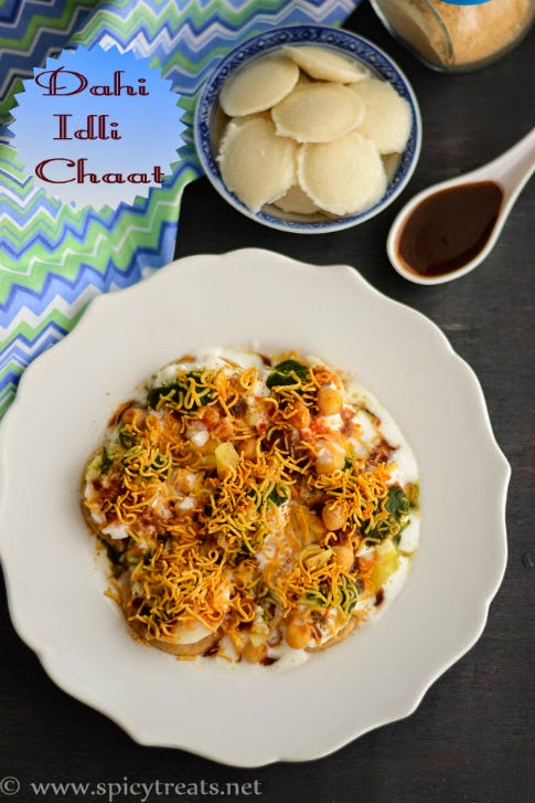 Dahi Idli Chaat Recipe