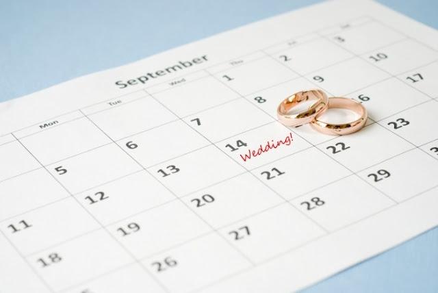 wedding calendar - Projeto Casório #01: Enxoval sem Pesar no Bolso.