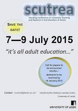 SCUTREA 2015 Conference