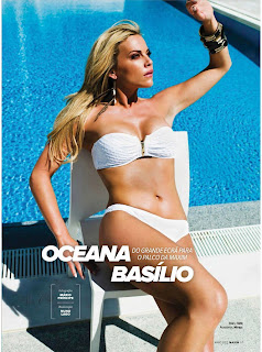 Oceana Basilio Cover Shoot, Maxim Cover Shoot
