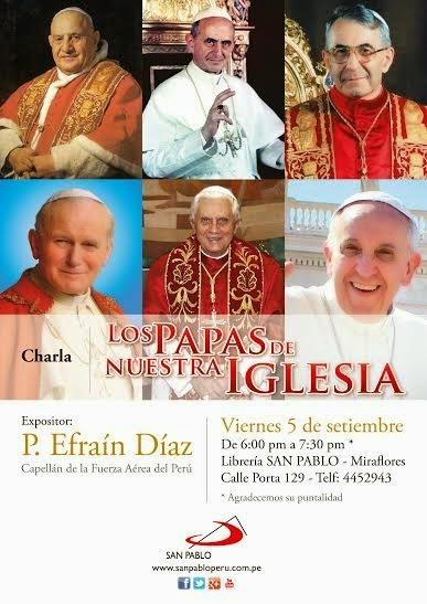 Los Papas de nuestra Iglesia
