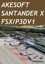 AKESOFT - SANTANDER X FSX P3D