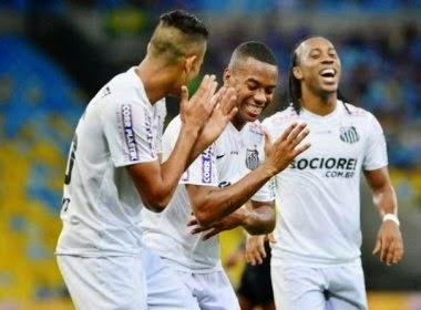 Robinho e Arouca não treinam e irão desfalcar o Santos contra o Vitória