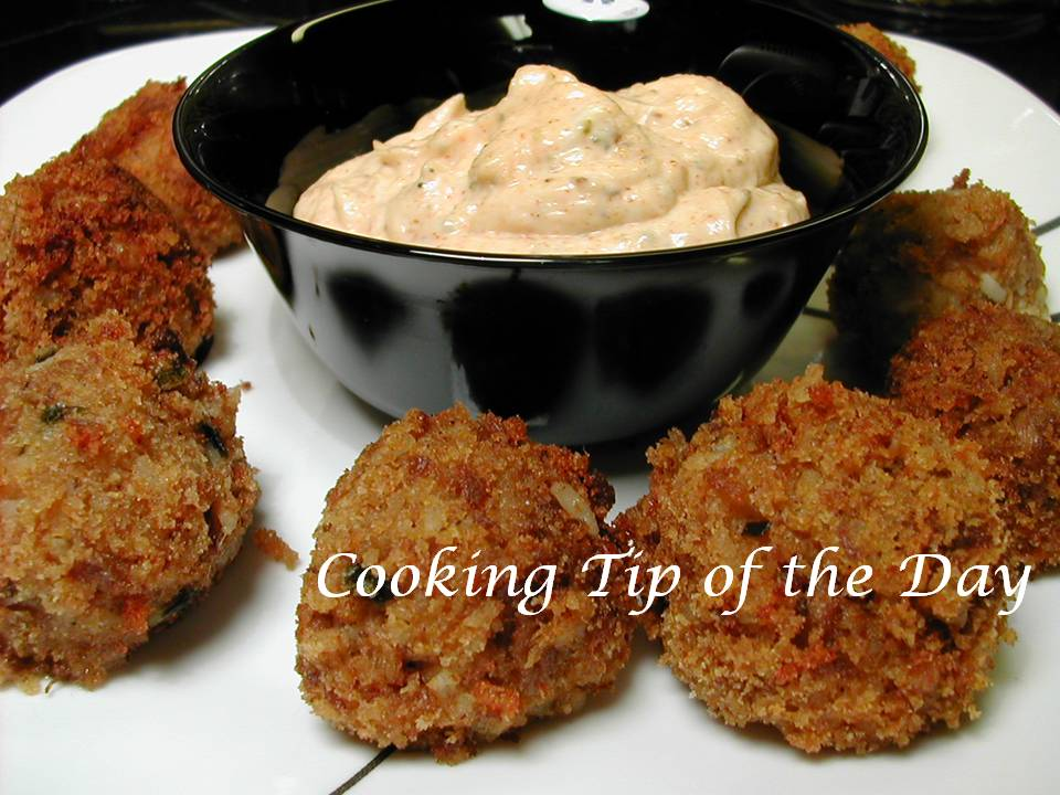 Cooking Tip of the Day: Recipe: Boudin Balls