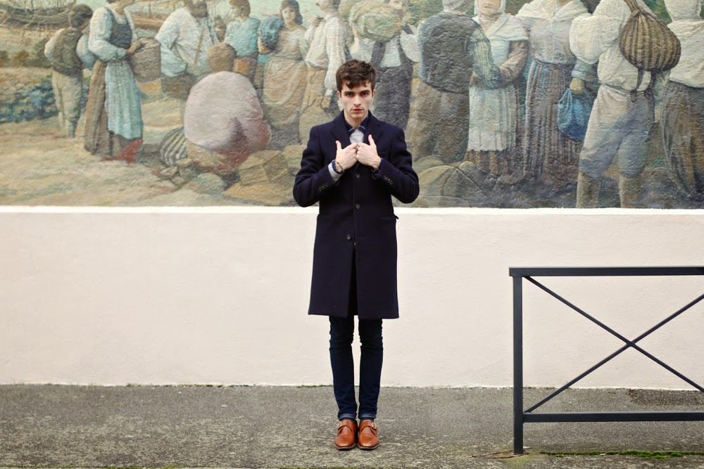 Vicomte-A_Arty-Sweat_Aigle-Chemise-Flannelle_Acne-Coat_Binome-Hermès_Nantes_Blog-Mode-Style-Homme_Mensfashion-Paris1