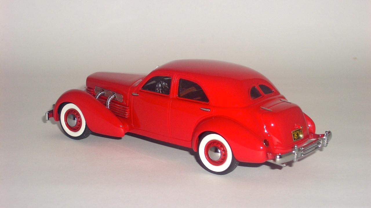 El Kekomóvil: Cord 812 Supercharged Beverly Sedan 1937 de Neo Scale ...