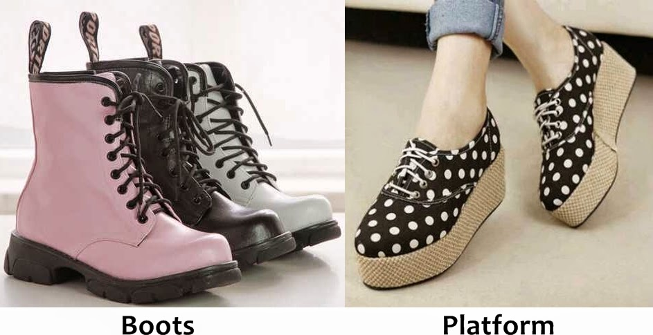 Tampil Cute Dengan Memakai Sepatu Model Terkini