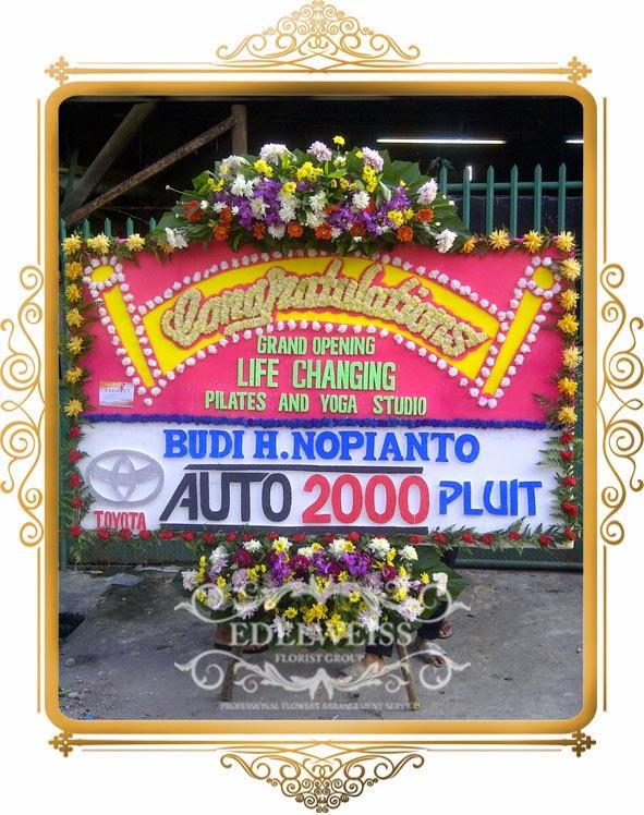 papan bunga congatulations