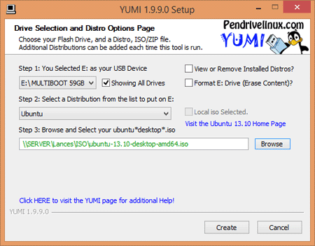 Download YUMI 2.0.1.6 Aplikasi Untuk membuat USB Bootable