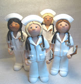 Nurse figurines