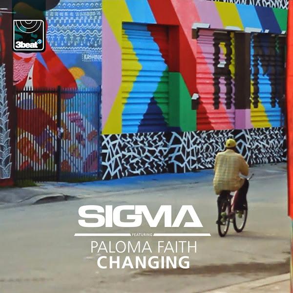 Sigma - Changing (feat. Paloma Faith) - Single Cover