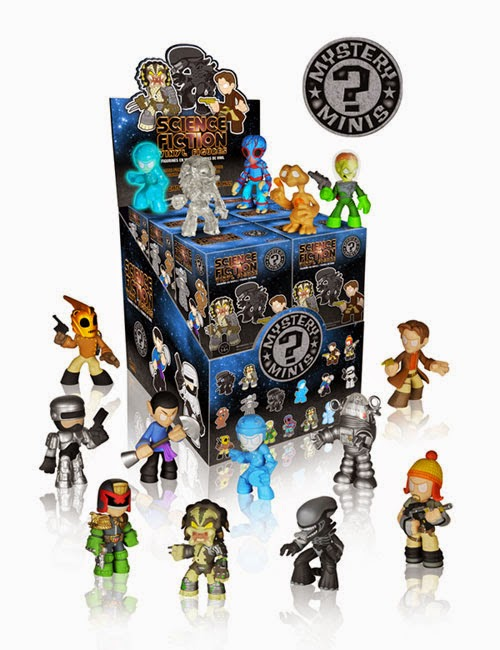 Classic Sci-Fi Mystery Minis Blind Box Series Packaging by Funko