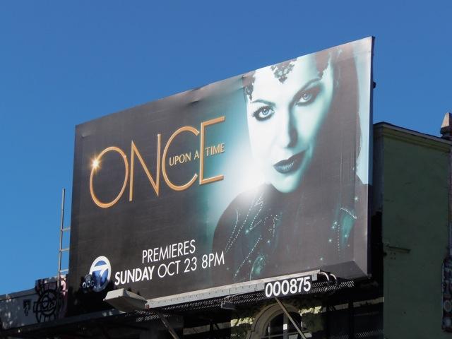Evil Queen TV billboard