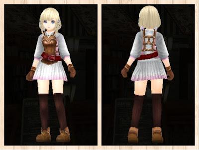 レザーアーマー・軽量化&ピンク1&赤2&白3