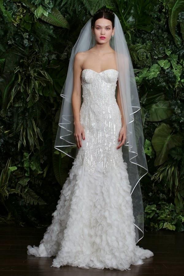 Wedding dresses naeem khan bridal aisle perfect for Naeem khan wedding dress