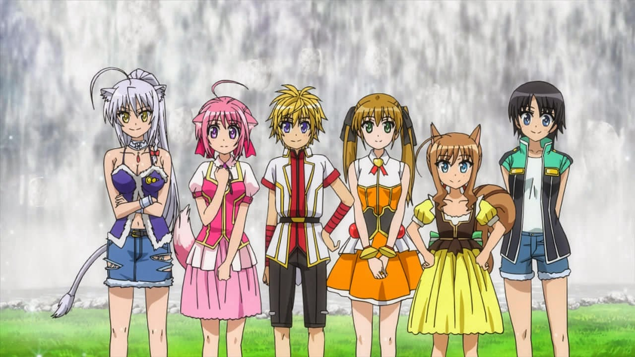 Dog Days Heroes Heroine Princesses The Heroines And From Left To Right Leo Millhi Cinque Rebecca Cou Nazumi