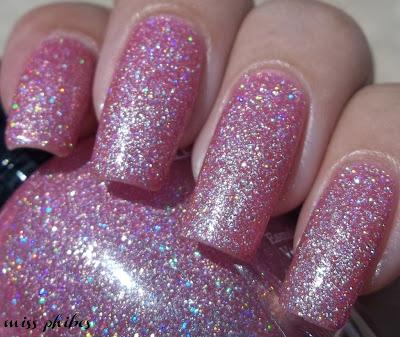 Kleancolor Holo Pink