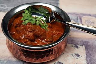 Carne de res Madras