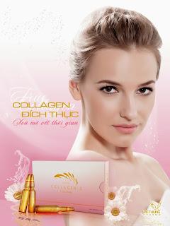 Vieskin Collagen S giúp bổ sung Collagen cho da hiệu quả