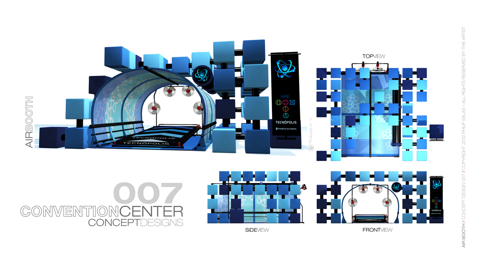 Sankhya Tribe: Convention Center / booth design series
