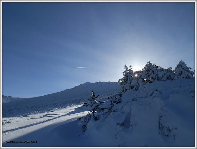 Camino a la Cebollera, invernal