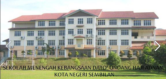 Smk Dato Undang Haji Adnan Kota Negeri Sembilan