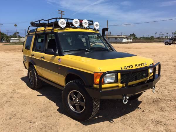 2002 Land Rover Discovery Ii Kalahari Edition Auto
