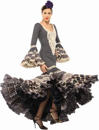 traje flamenca canastero de El Corte Inglés 2013