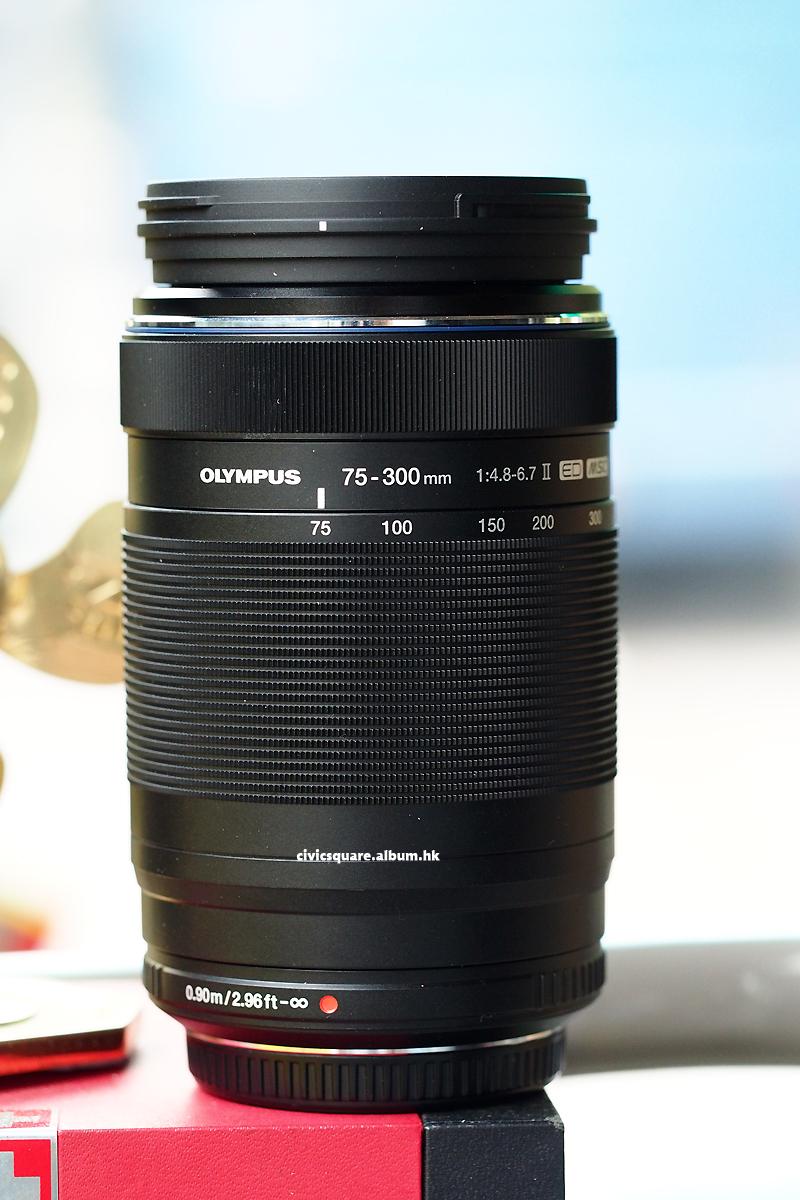 Civic Square Olympus Mzd Ed 75 300mm F48 67 Ii Mzuiko Digital Black 300ii75mm300mm