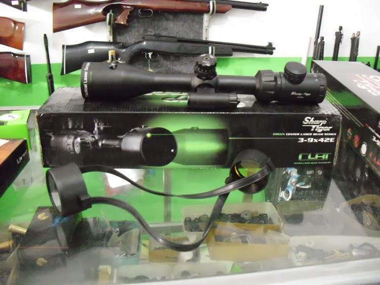 Teleskop senapan angin dan laser red dot laser bore sighter untuk