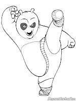 Tendangan Kungfu Si Panda