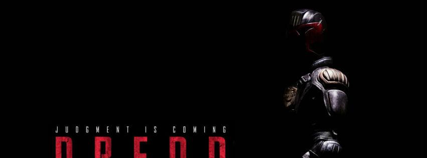 Dredd 2012 movie facebook cover