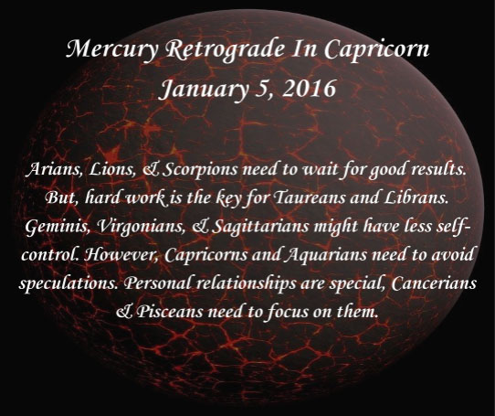 Mercury In Retrograde 2016 Calendar | Calendar Template 2016
